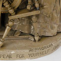 John Rogers, New York, Plaster Figural Group